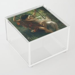 Springtime by Pierre-Auguste Cot 1873, French Acrylic Box