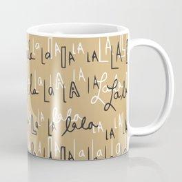 Falalalala holiday trend Coffee Mug