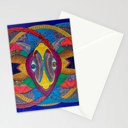 chivo cosmico Stationery Cards