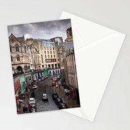 Victoria Street in Edinburgh, Scotland Stationery Cards