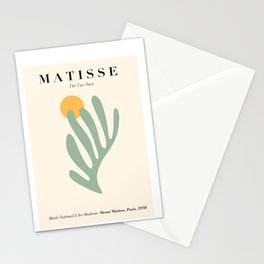 Henri Matisse Art minimal poster cut outs Stationery Cards