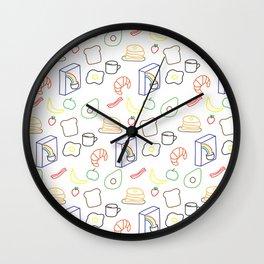 Breakfast Baby! Wall Clock