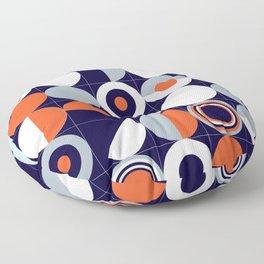 Modernist Circles Floor Pillow
