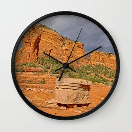 Eastern Mitten Ridge viewed from the Hangover Trail Wall Clock