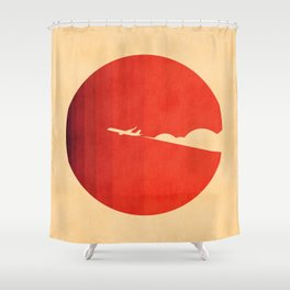 The long goodbye Shower Curtain