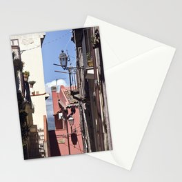 Sicilian Mountainvillage - Forza d'Agro Stationery Cards