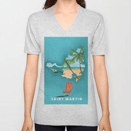 Saint Martin Unisex V-Neck