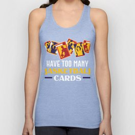 Basketball Card Collector Collecting Cards Unisex Tank Top