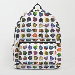 Guitar Picks Watercolor Backpack