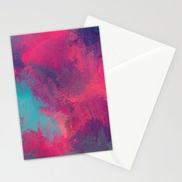 """""""And STILL I Persevere Through The Storms"""" Abstract Design Stationery Cards"""