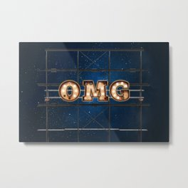 OMG - Hotel - Wall-Art for Hotel-Rooms Metal Print