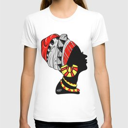 Black Queen (red) T-shirt