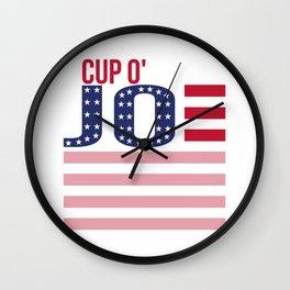 Cup O'Joe 2020 Wall Clock