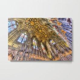 Thistle Chapel St Giles Cathedral Edinburgh Metal Print