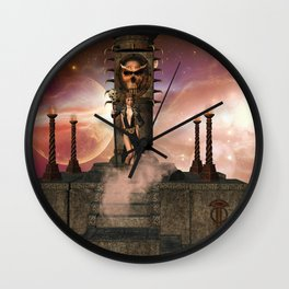 The  Totem place Wall Clock