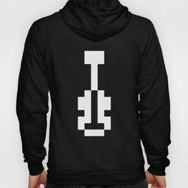 8 Bit Logo (Black) Hoody