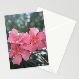 Oleander (Nerium Oleander Pink Joy') Stationery Cards