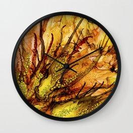 Autumn extravaganza Wall Clock