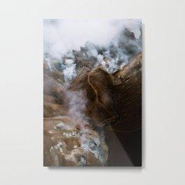 Kerlingarfjöll mountain range in Iceland - Aerial Landscape Photography Metal Print
