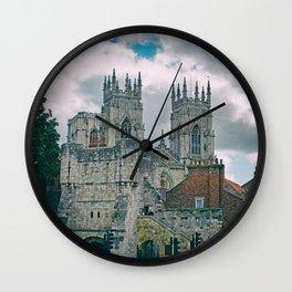 York Minster and Bootham Bar Wall Clock