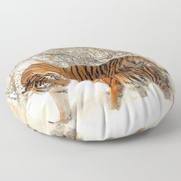 Tiger_2015_0126 Floor Pillow