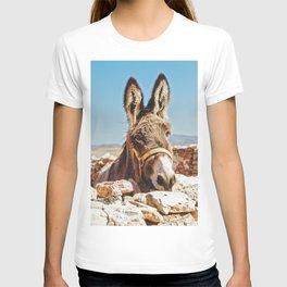 Donkey photo T-shirt