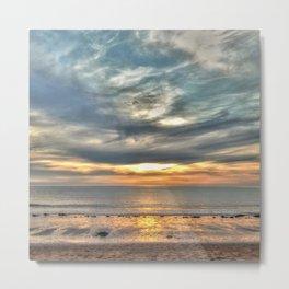 Sunset on the Llyn Peninsula Metal Print