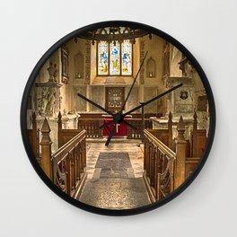 Knowlton Church Chancel Wall Clock