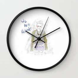 We Are Resilient Wall Clock