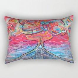 Thought Eruptions Rectangular Pillow
