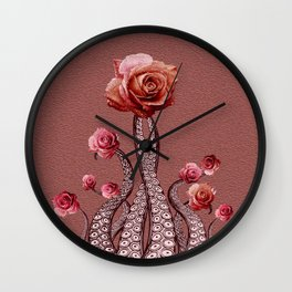 Octo Roses Vintage Carlita Peartree Signature Series Wall Clock