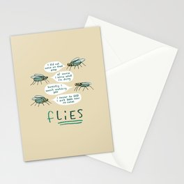 fLIES Stationery Cards