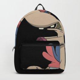 Cute zombie turtle Backpack