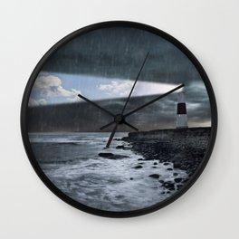 Lighthouse beam Wall Clock