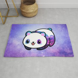 Kawaii Galactic Mighty Panda Rug