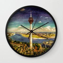 Dusseldorf Wall Clock