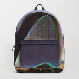 Azerbaijan Heydar Aliyev Center Artistic Illustration Lens Flare Style Backpack