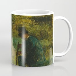"Jean-François Millet ""Garden Scene"" Coffee Mug"