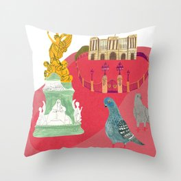 Queens House in England Throw Pillow