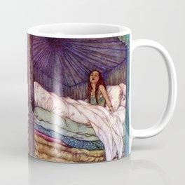 Princess and the Pea By Edmund Dulac Coffee Mug