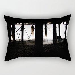 Under the Boardwalk. Rectangular Pillow
