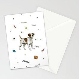 playful jack Stationery Cards