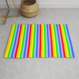variation on the rainbow 1 Rug