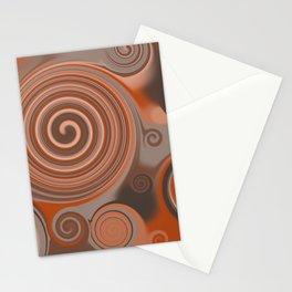 Circles: Brown Sugar Stationery Cards