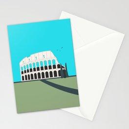 Rome, Italy Colosseum Landscape / Roma Il Colosseo, Italia Stationery Cards