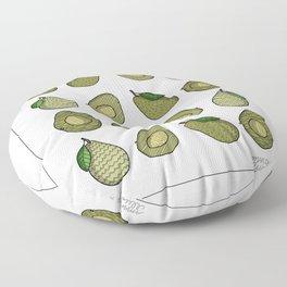 An Avocado a Day... Floor Pillow