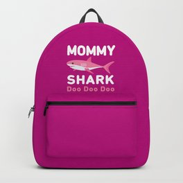 Mommy Shark Backpack