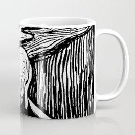 THE SCREAM - EDVARD MUNCH - LITHOGRAPH Coffee Mug