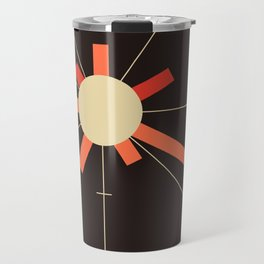 paper sun    charcoal Travel Mug
