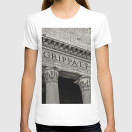 The Pantheon black and white T-shirt